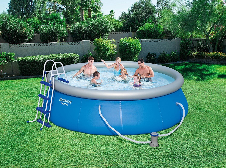 piscine hors sol facile monter piscine fast set pools bestway. Black Bedroom Furniture Sets. Home Design Ideas